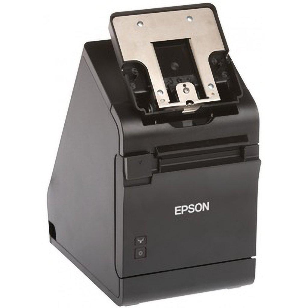 Epson TM-m30II-S All-In-One Printer & Tablet Stand USB, Ethernet, Lightning, Black | C31CH63012A0 Receipt Printer Epson