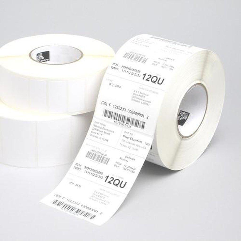 Zebra Z-Perform 1000T Thermal Transfer Paper Label 38mm x 25mm, White | 880003-025D Consumable Zebra