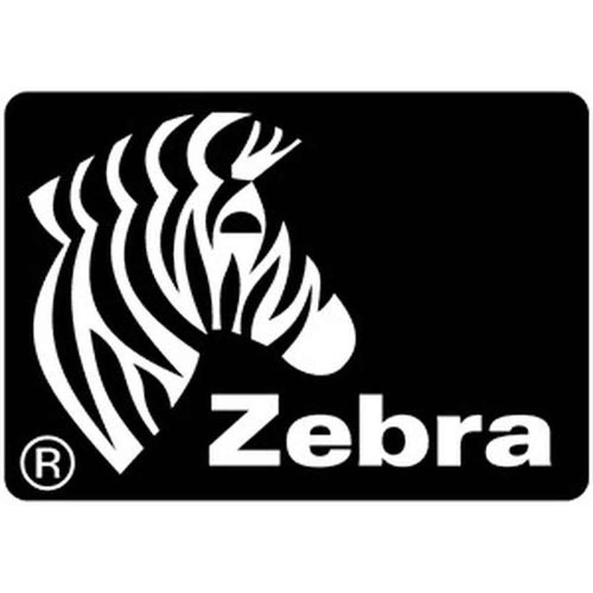 Zebra Uncoated Direct Thermal Perforated Permanent Adhesive Paper Label 76 x 51 mm, White | 800283-205