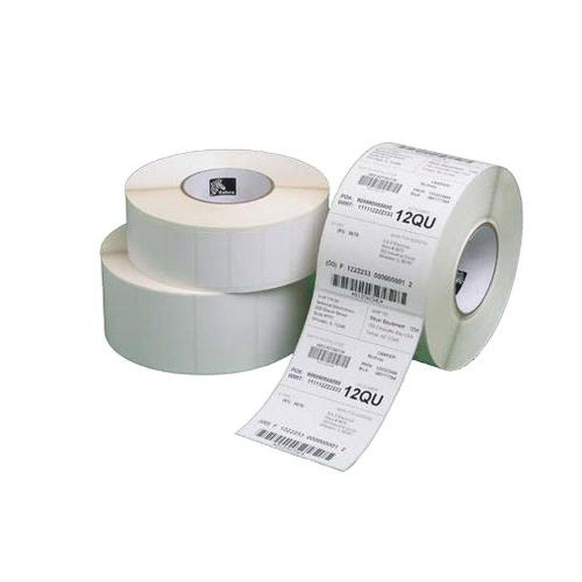 Zebra Z-Perform 1000D Uncoated Direct Thermal Paper Label 76mm x 51mm, White | 3012911-T Consumable Zebra