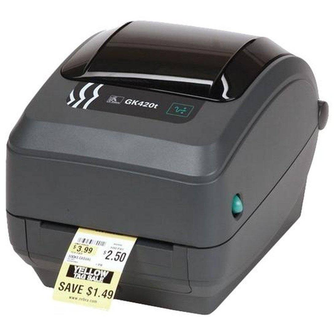 Zebra GK420d Direct Thermal Label Printer 203DPI USB, Serial | GK42-202520-000 Label Printer Zebra