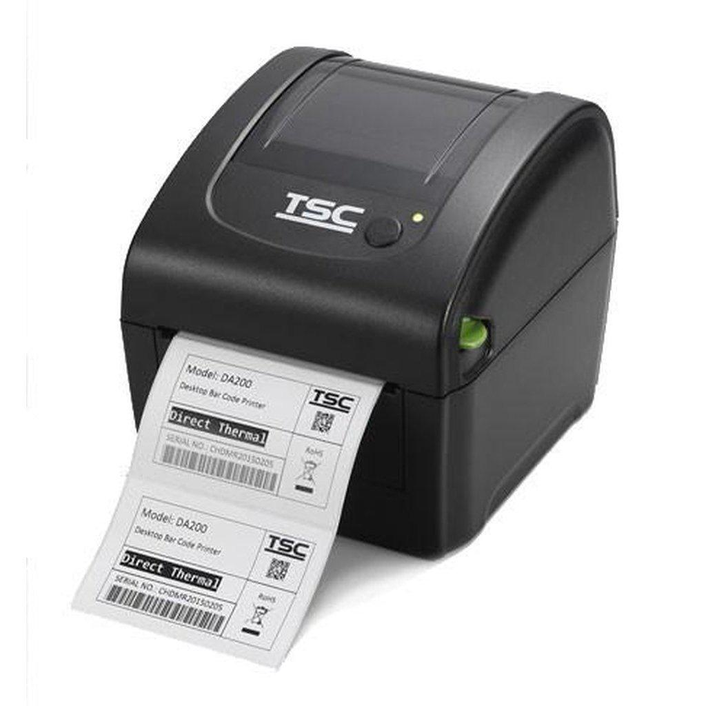 TSC DA210 Direct Thermal USB Label Printer 203DPI, Black | 99-158A001-0002 Label Printer TSC