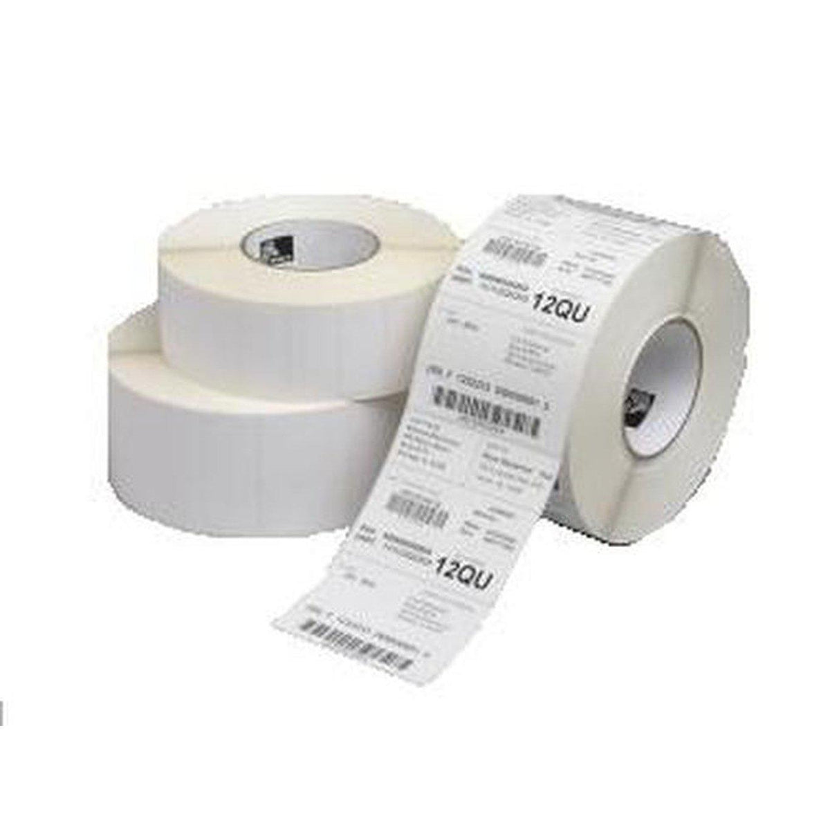 Zebra Z-Perform 1000T Thermal Transfer Paper Label 64mm x 51mm, White | 3004486 Consumable Zebra