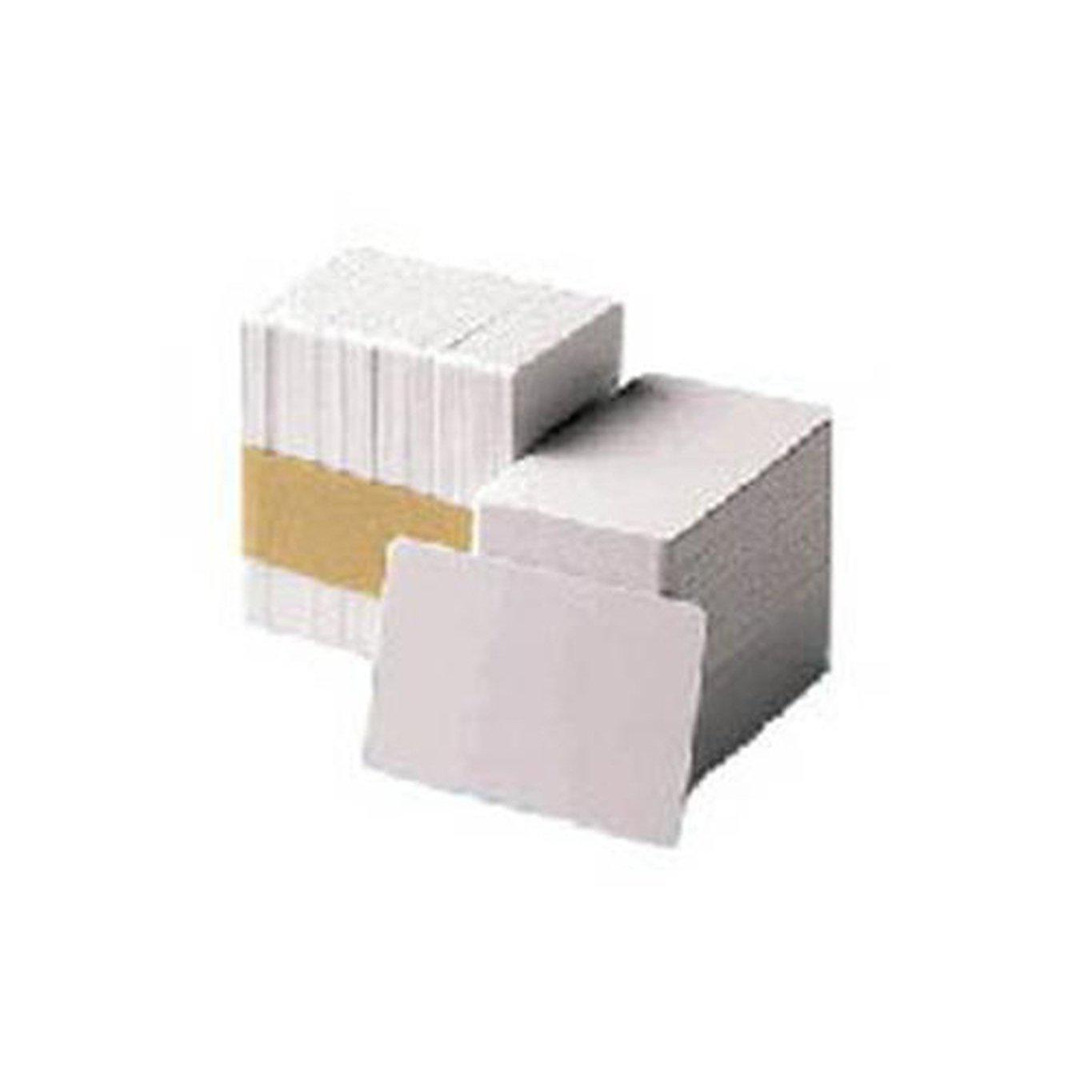 Zebra Premier PVC Blank Cards CR80 size, 30 mil, Box of 500, White | 104523-111 Consumable Zebra