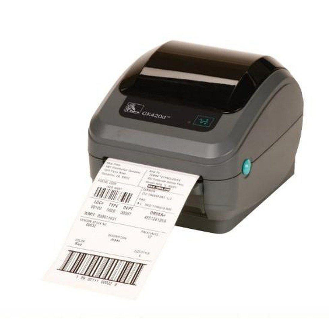 Zebra GK420d Direct Thermal Label Printer Direct 203DPI Ethernet, USB | GK42-202220-000 Label Printer Zebra