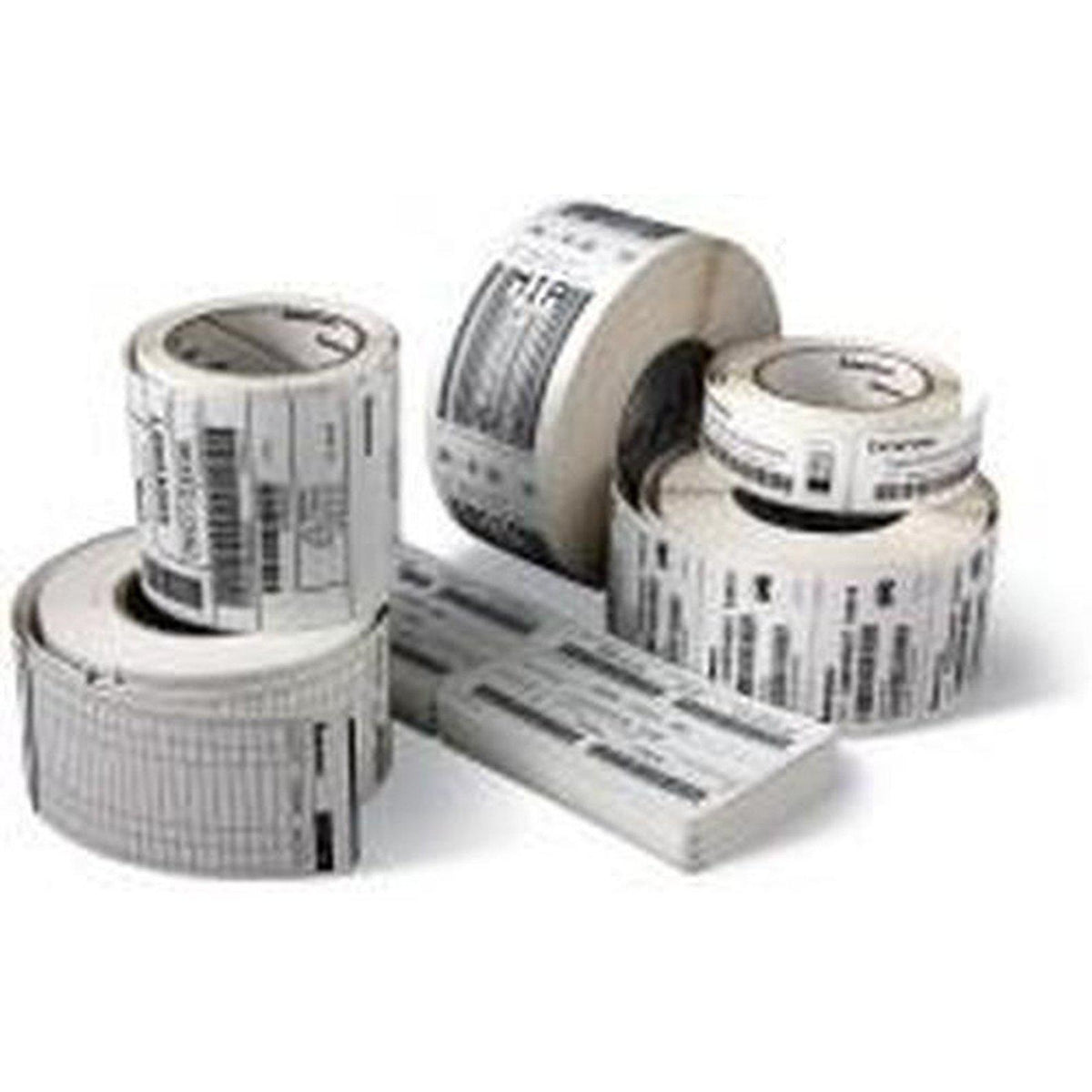Zebra Z-Select 2000D Direct Thermal Paper Labels 76mm x 25mm, White | 800263-105 Consumable Zebra