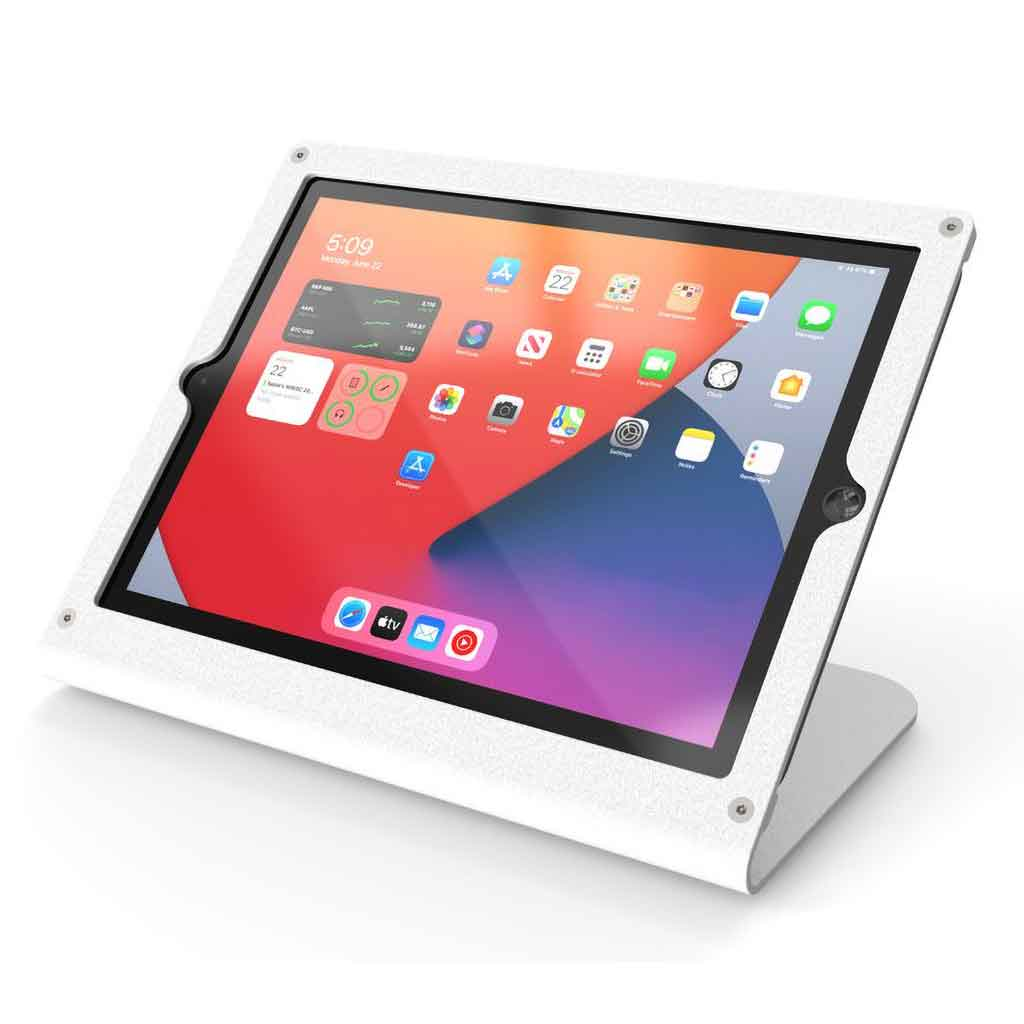 "Heckler Design Windfall 10.2"" iPad Stand for 7th / 8th Gen iPad, White 
