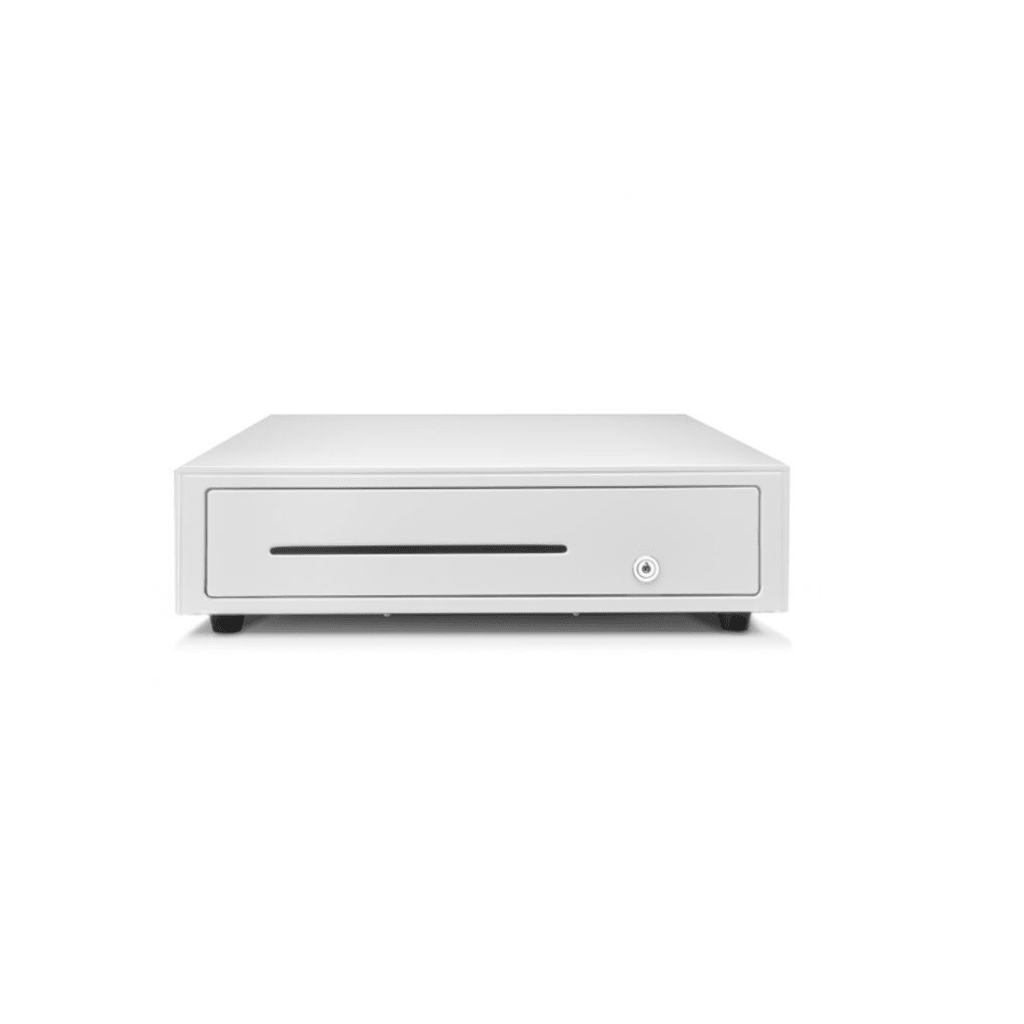 Star Micronics CB2002 Slide-Out Cash Drawer 8/4, Ultra White | 55555563 Cash Drawer Star Micronics