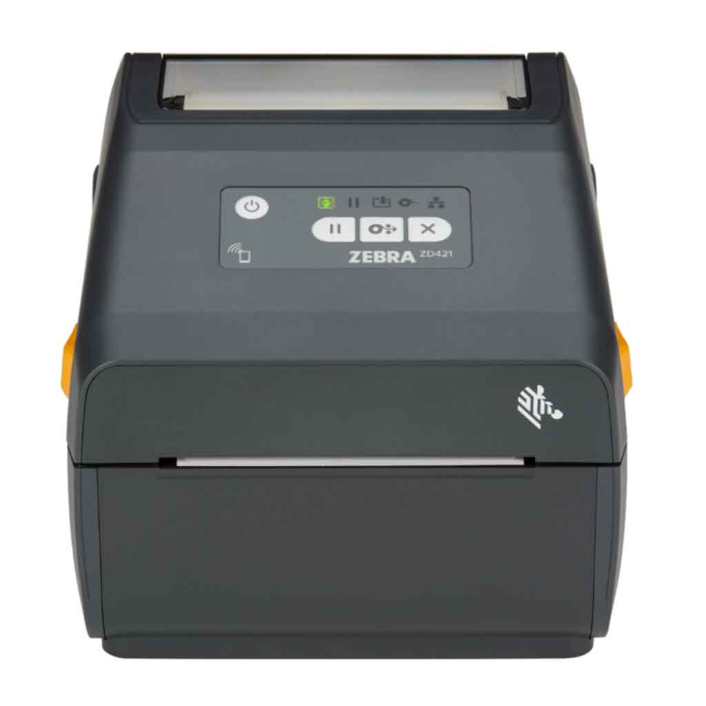 Zebra ZD421 Direct Thermal 203DPI Label Printer, Bluetooth, USB | ZD4A042-D0EE00EZ Label Printer Zebra