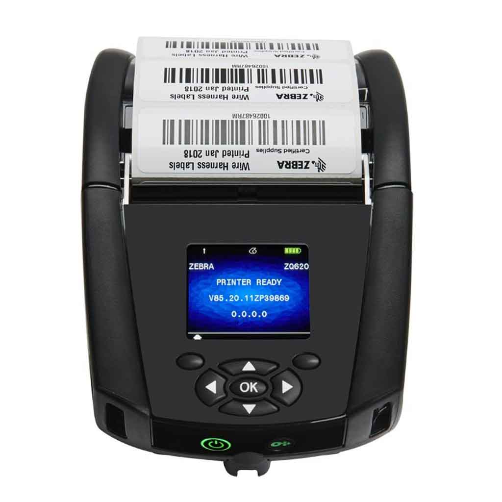 Zebra ZQ620 Direct Thermal 203DPI Label Printer, WiFi, Bluetooth | ZQ62-AUWAE11-00 Label Printer Zebra