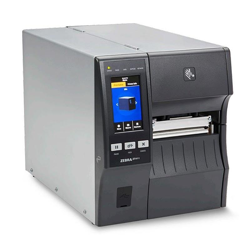 Zebra ZT411 DT / TT 203DPI Label Printer, Bluetooth, Ethernet, USB | ZT41142-T3E0000Z Label Printer Zebra