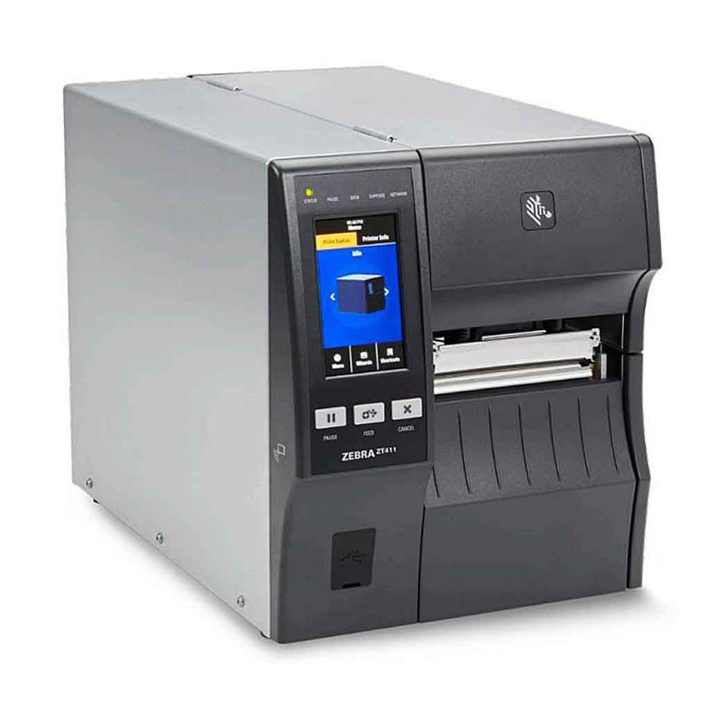 Zebra ZT411 DT / TT 300DPI Label Printer, Bluetooth, Ethernet, USB | ZT41143-T4E0000Z Label Printer Zebra