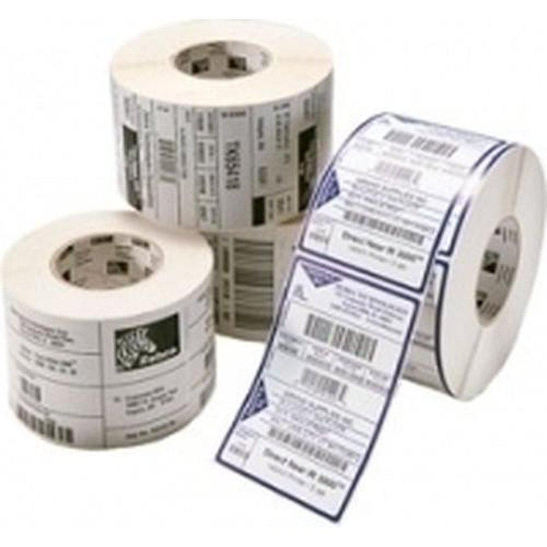 Zebra Z-Ultimate 3000T Thermal Transfer Polyester Label 38.1mm x 19.0mm, Silver | 880368-019 Consumable Zebra