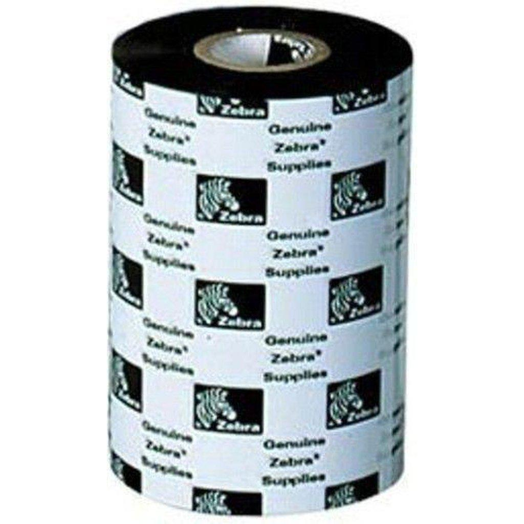 Zebra 2100 High Performance Wax Thermal Transfer Ribbon 60mm x 450m, Black | 02100BK06045 Consumable Zebra