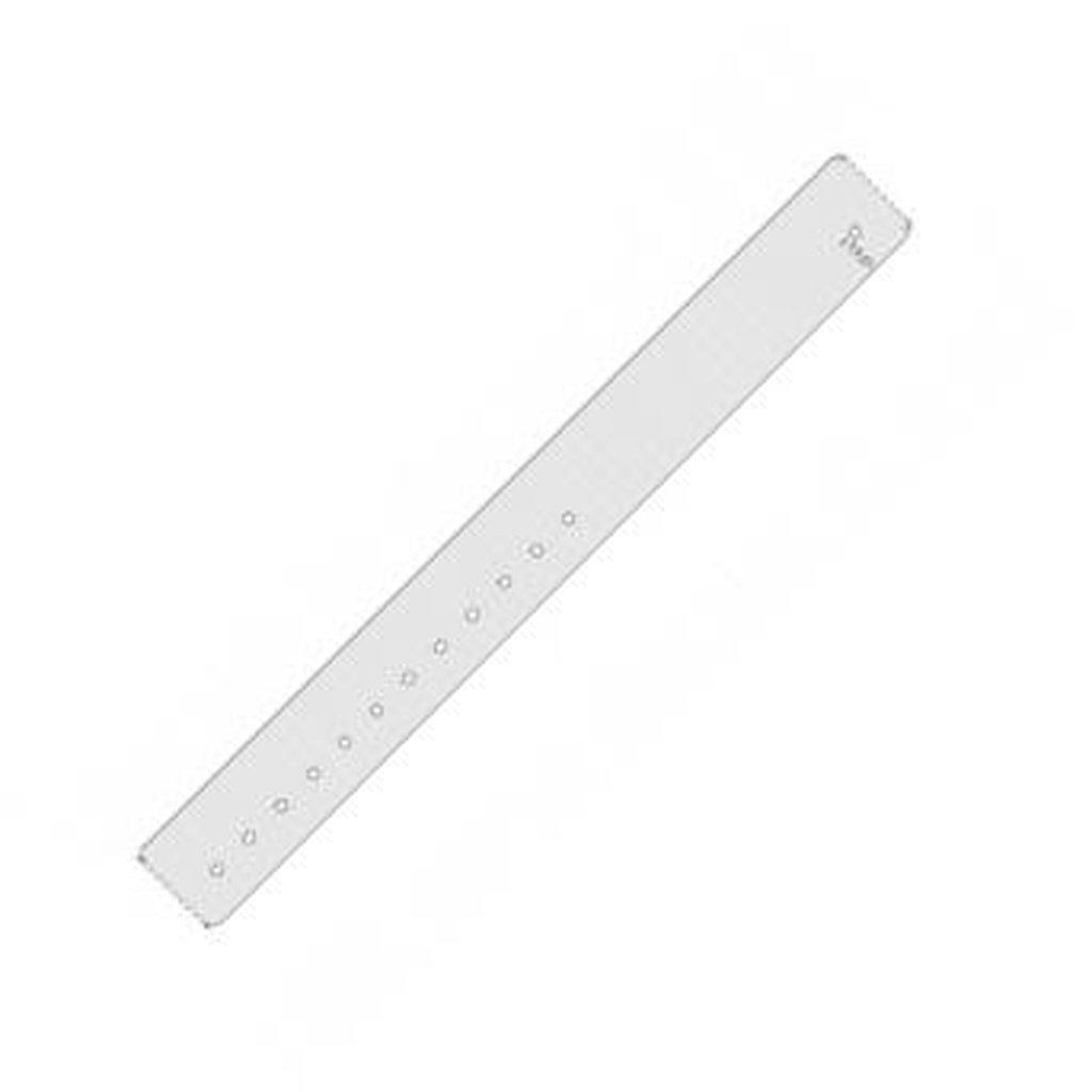 Zebra QuickClip Wristband kit Adult Size 30 x 279mm, White | 10027730K Consumable Zebra