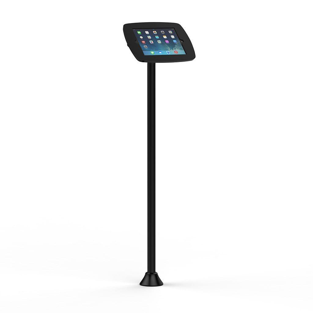 Bouncepad POS Stands & Mounts Black - Covered Front Camera and Home Button Floorstanding Slim Galaxy Tab A Kiosk