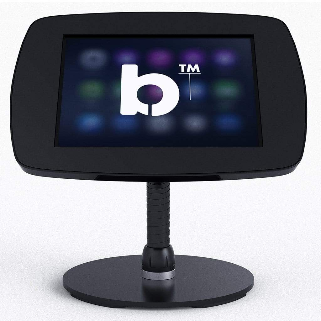 Bouncepad POS Stands & Mounts Black - Exposed Front Camera and Home Button Counter Freestanding Kiosk for Galaxy Tab