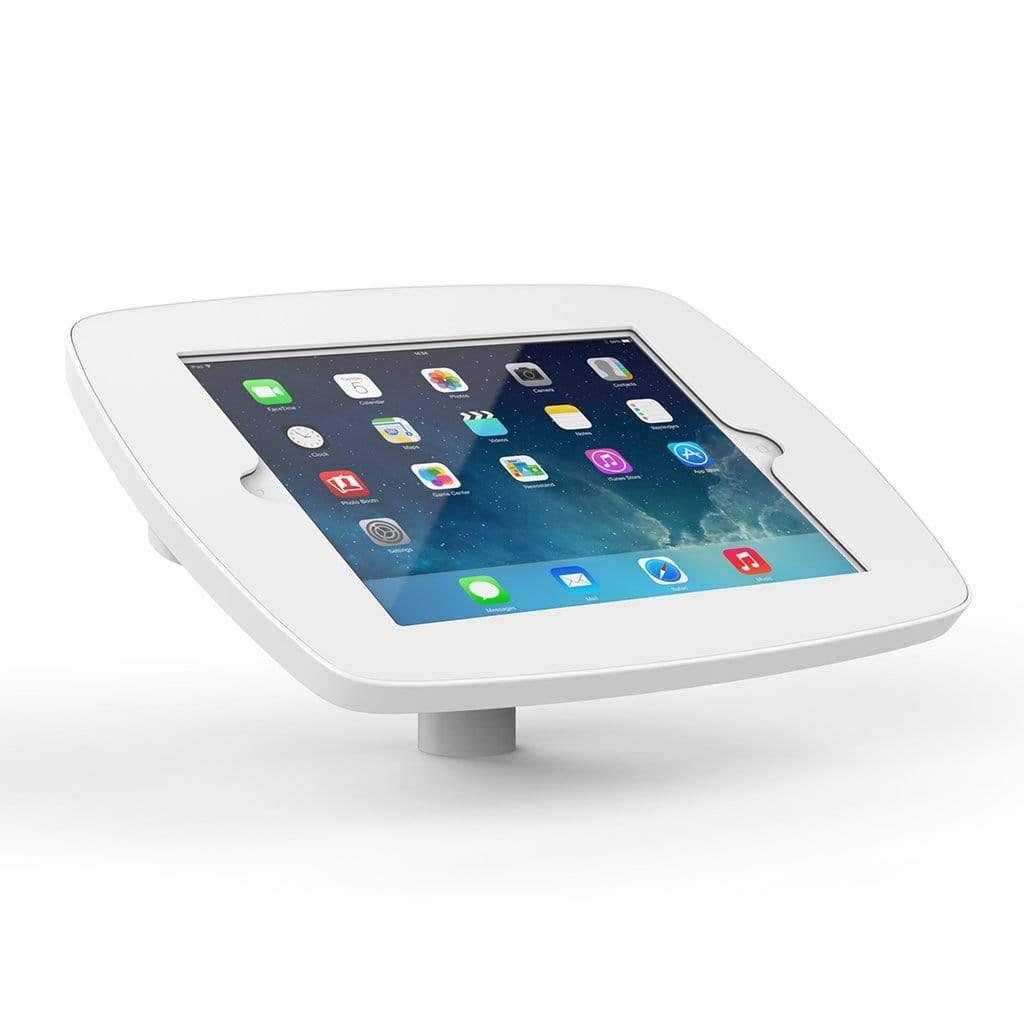 Bouncepad POS Stands & Mounts White - Exposed Front Camera and Home Button Desk Mounted Kiosk Stand for iPad 10.2