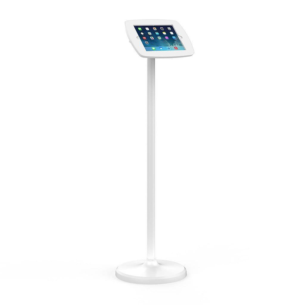 Bouncepad POS Stands & Mounts Black - Covered Front Camera and Home Button Floorstanding Kiosk Display for iPad 10.2