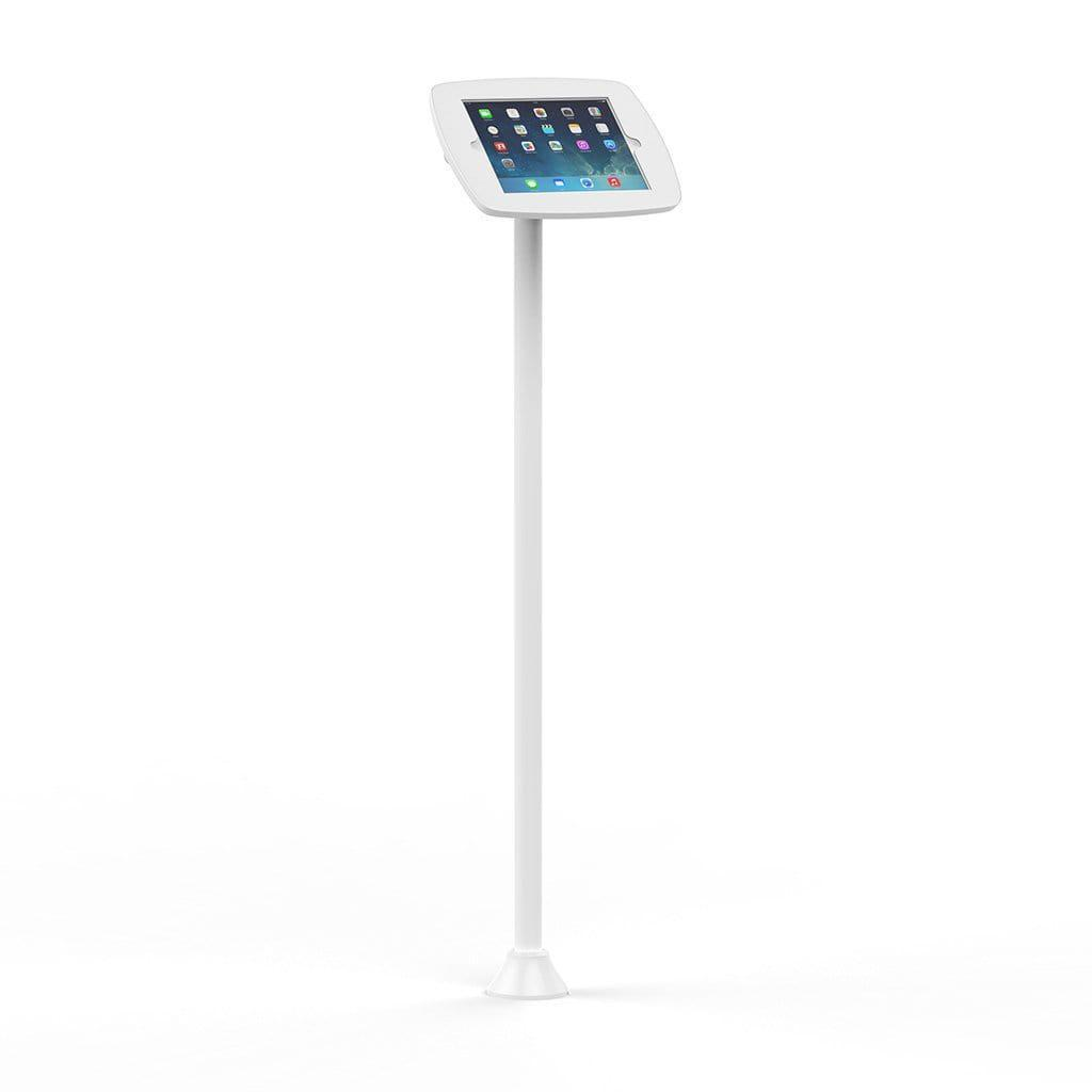 Bouncepad POS Stands & Mounts White - Exposed Front Camera and Home Button Floorstanding Slim Kiosk iPad 10.2 Stand