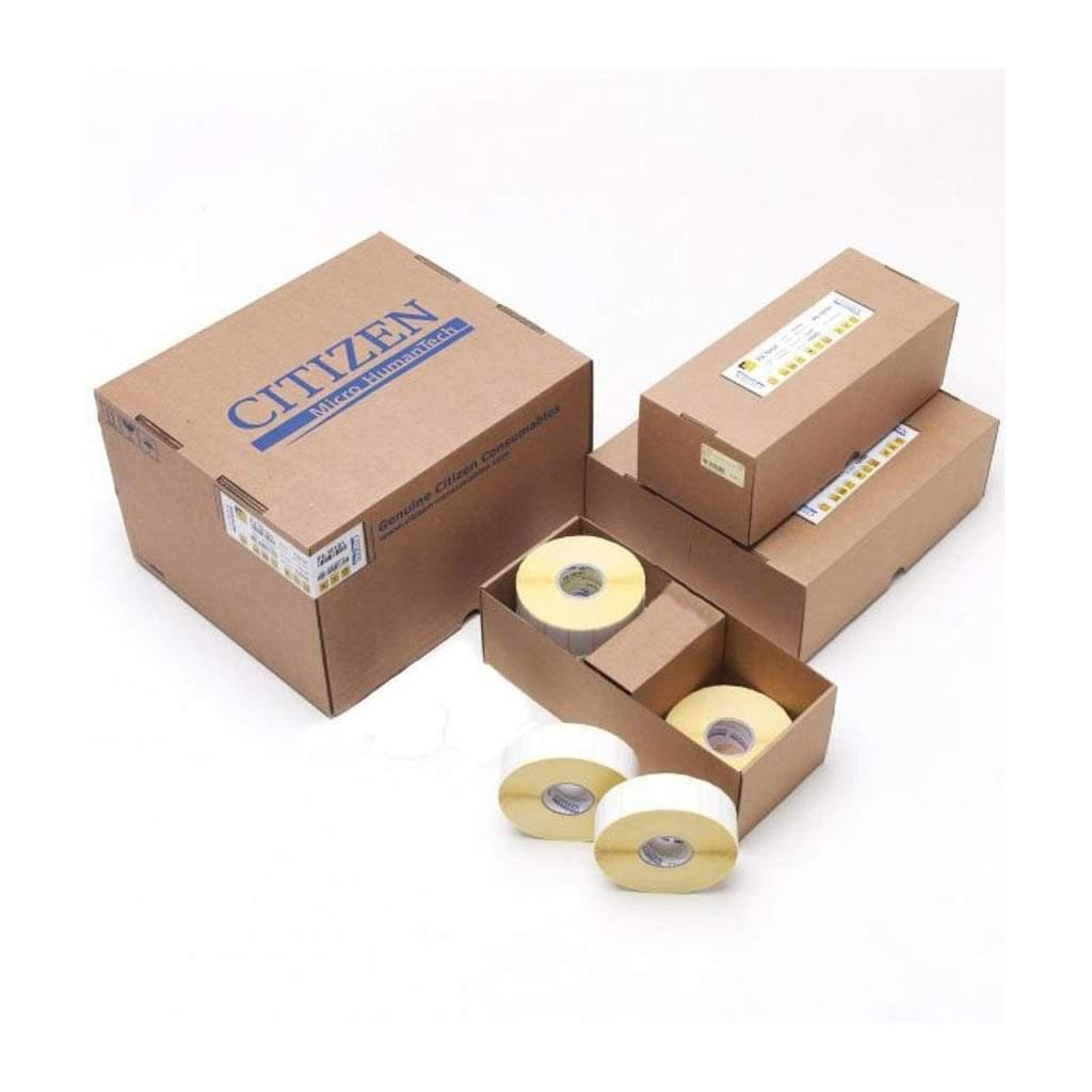 Citizen Consumables 3252010 Citizen 51x25mm Direct Thermal Labels, 12 rolls/box