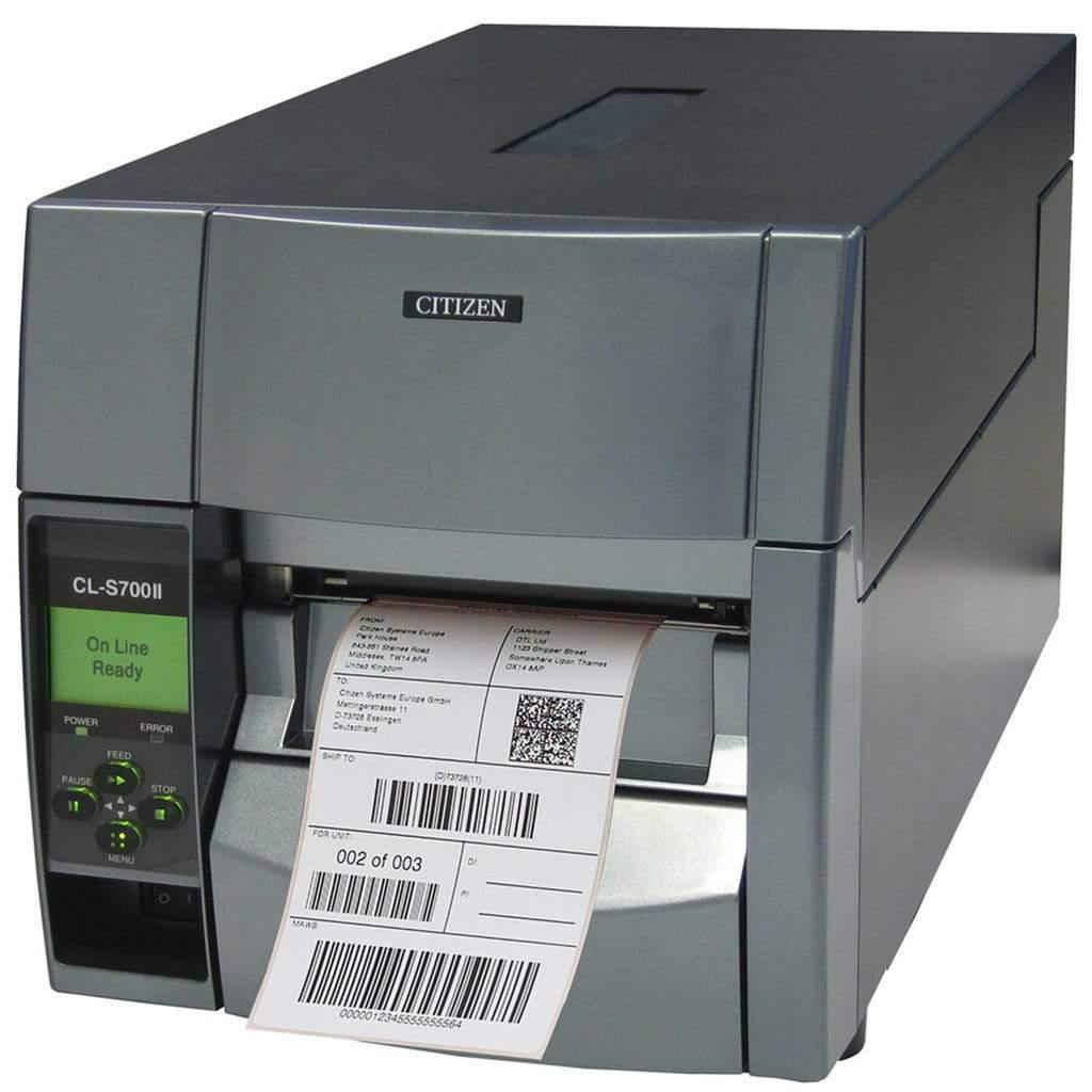 Citizen CL-S700IIDT Direct Thermal Label Printer USB, Serial | CLS700IIDTNEXXX Label Printer Citizen