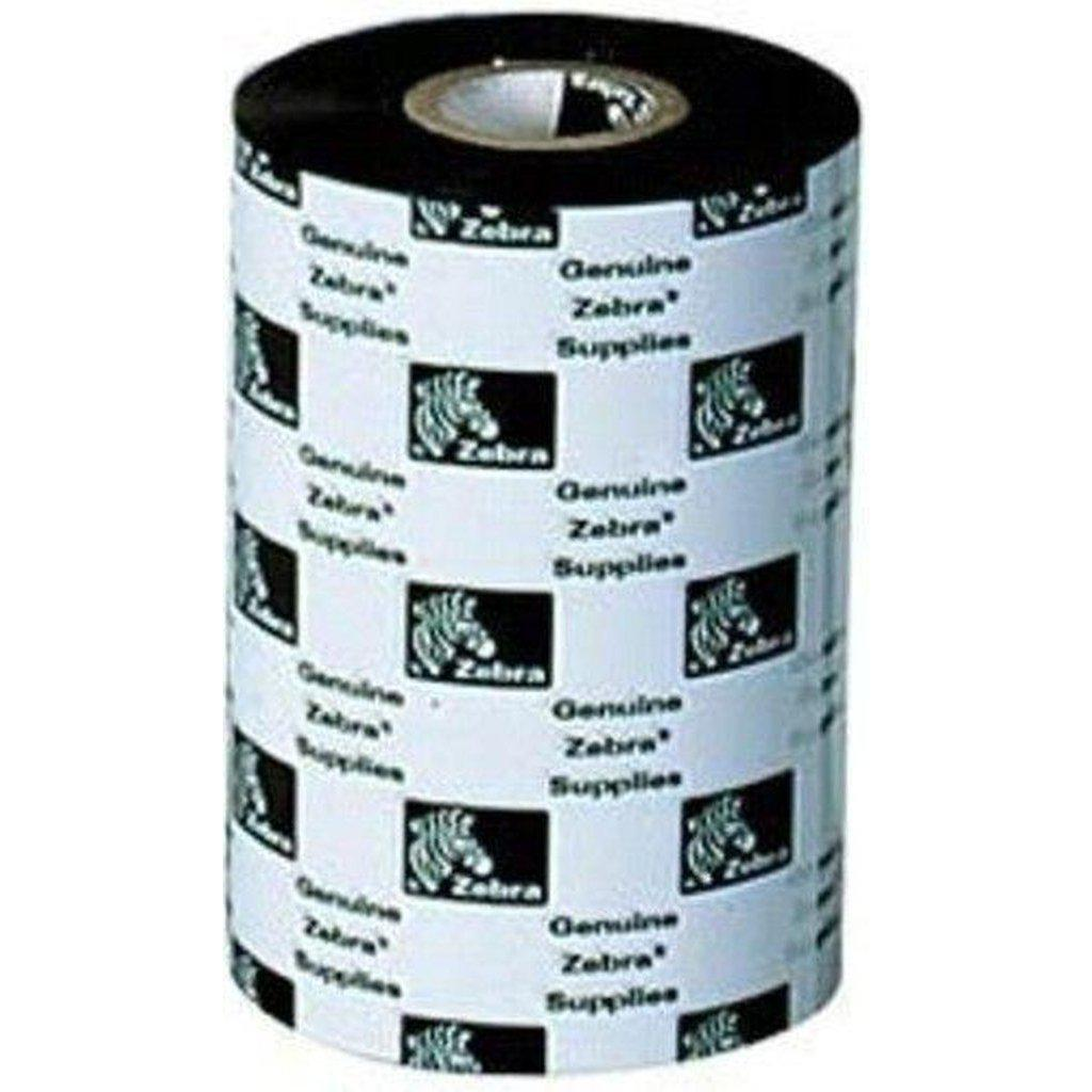Zebra 3200 High Performance Wax Resin Thermal Transfer Ribbon 64mm x 74m, Black | 03200GS06407 Consumable Zebra