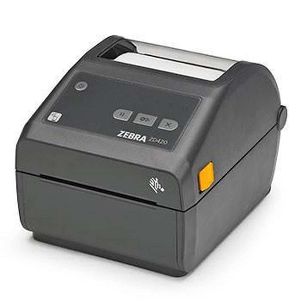 Zebra ZD420 DT Label Printer 300 DPI Bluetooth, USB | ZD42043-D0EE00EZ Label Printer Zebra