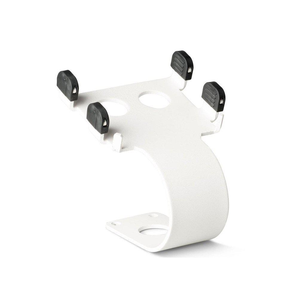 Ergonomic Solutions Card Reader White SpacePole C-Stand for Miura M10, White