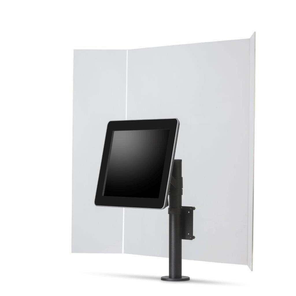 Ergonomic Solutions POS Stands & Mounts SafeGuard Perspex Screen with VESA75/100