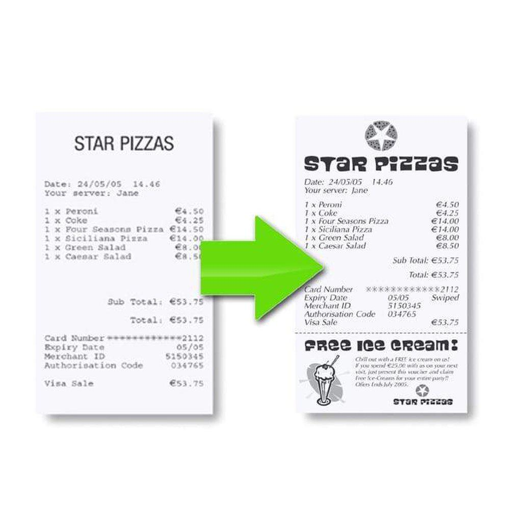 Star Micronics Receipt Printer Grey Star TSP143II ECO USB POS Receipt Printer