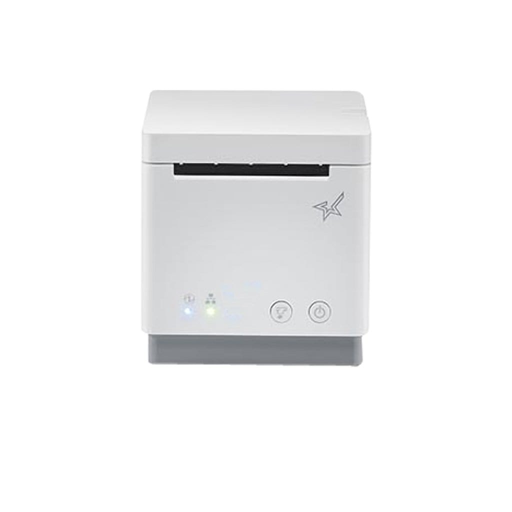 Star Micronics mC-Print2 Receipt Printer Ethernet, USB, White | 39652090 Receipt Printer Star Micronics