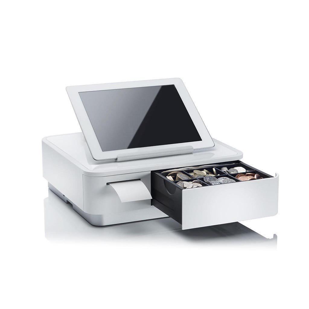 Star Micronics mPOP Cash Drawer and Receipt Printer, White | 39650091 Receipt Printer Star Micronics