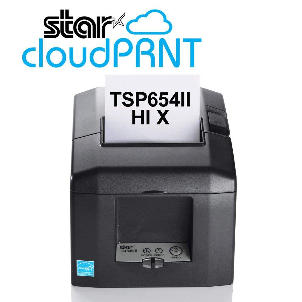 Star Micronics Receipt Printer Star TSP654IIHiX Multi-Interface Printer