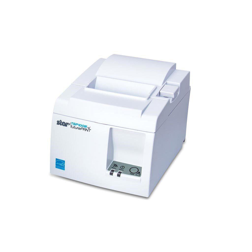Star Micronics Receipt Printer White Star TSP143IIIU DataCharge POS Printer