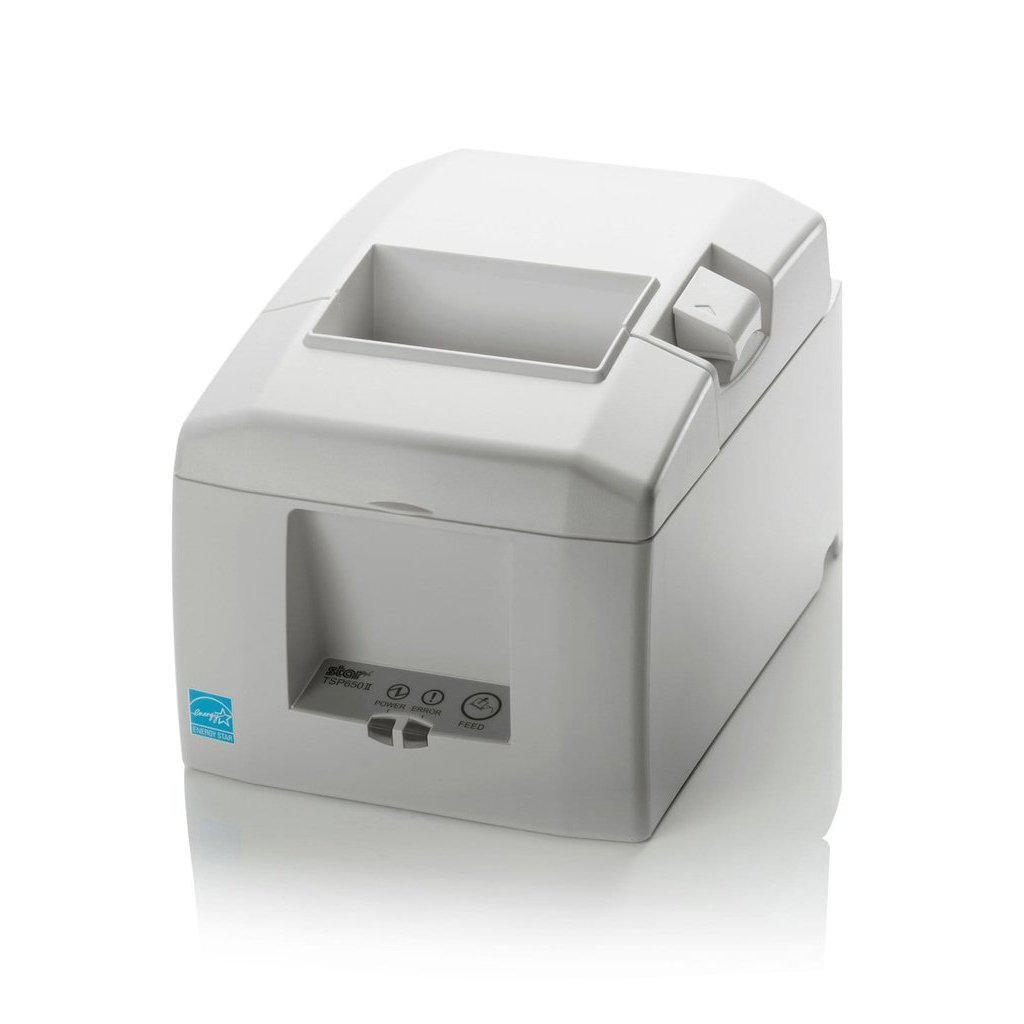 Star Micronics Receipt Printer White Star TSP654IIBI Bluetooth Receipt Printer