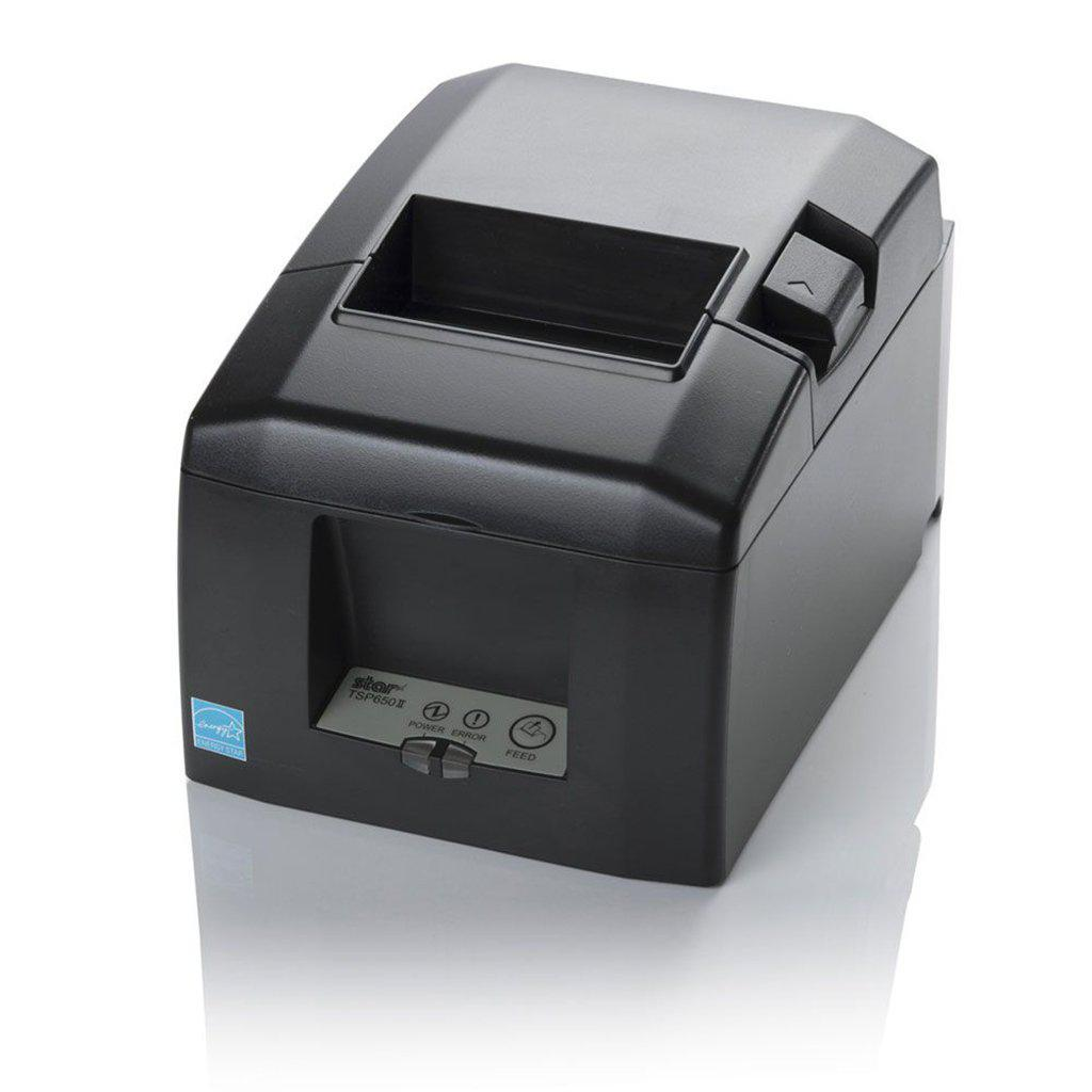 Star Micronics TSP654IIBI Bluetooth Receipt Printer, Grey | 39481410 Receipt Printer Star Micronics
