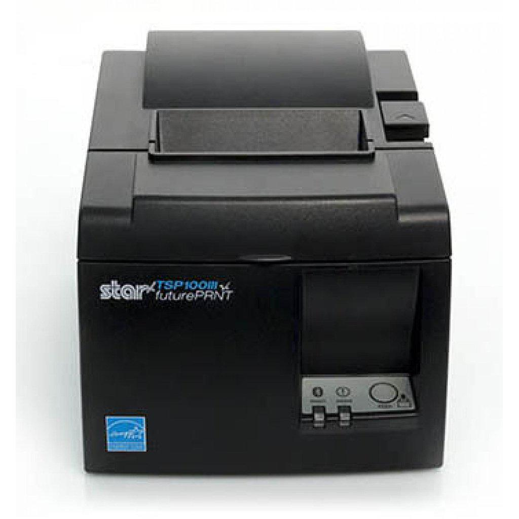 Star Micronics TSP143IIIBI Bluetooth Receipt Printer, Grey | 39472190 Receipt Printer Star Micronics