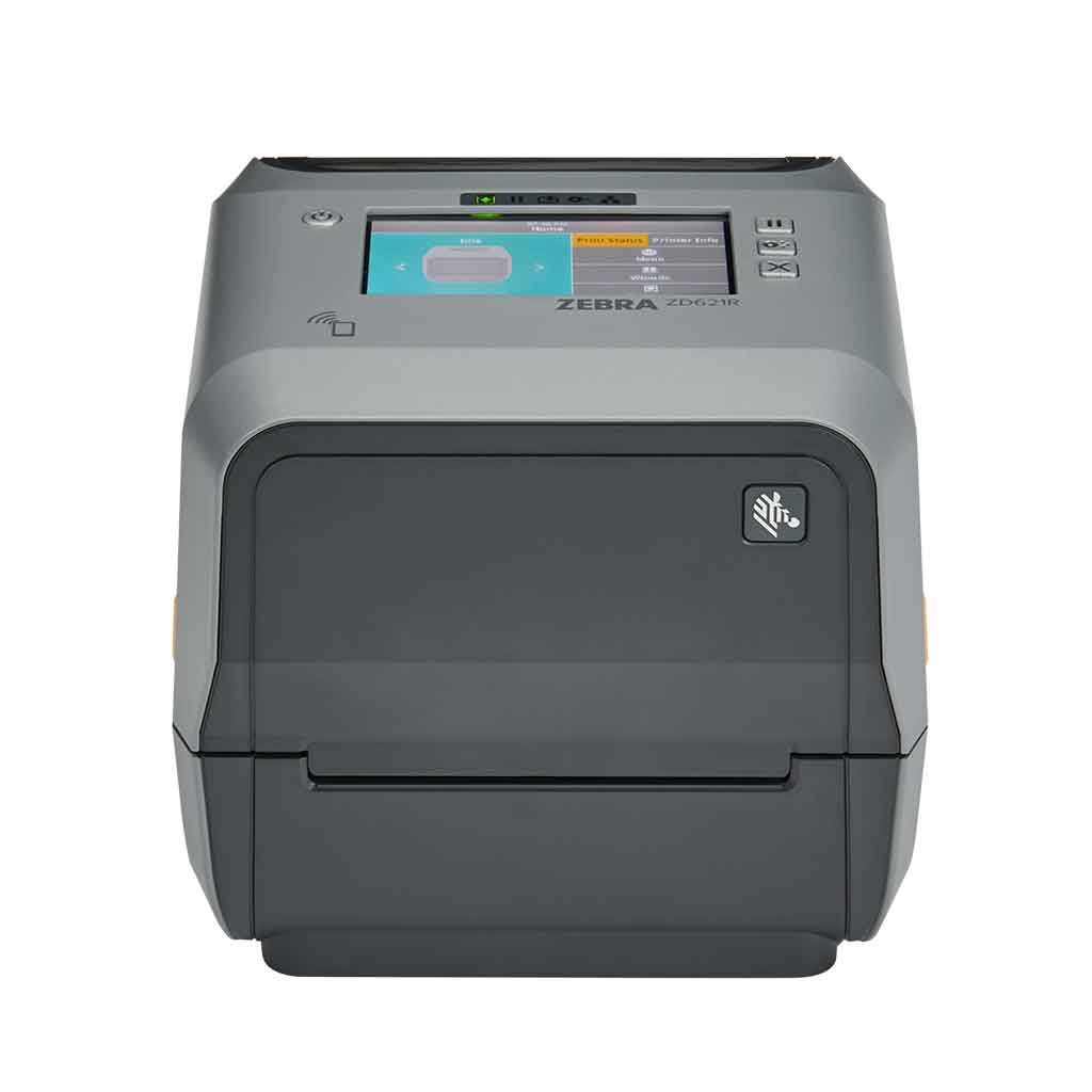 Zebra ZD621 Direct Thermal 203DPI Label Printer, Bluetooth, Ethernet, USB | ZD6A142-D0EF00EZ Label Printer Zebra