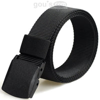All Plastic Belt, Metal Allergy Free, Pass Airport Metal Detectors (TSA), 120 cm