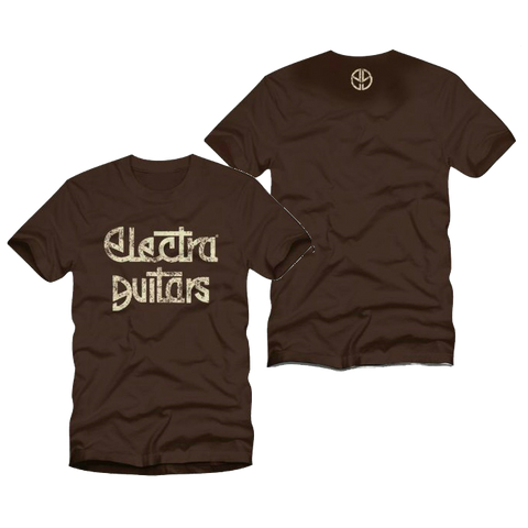 Electra Guitars T-Shirt Brown