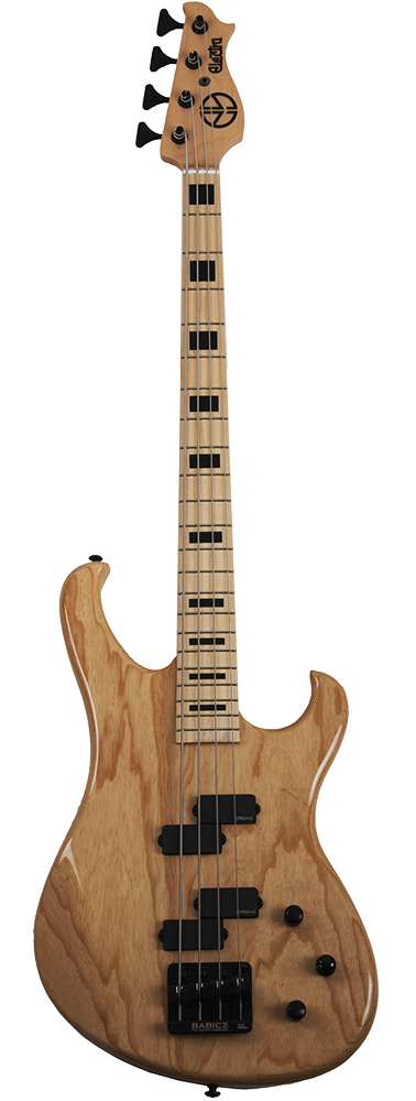 Electra Phoenix Bass Guitar Natural