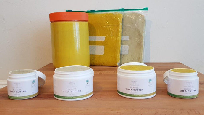 Types of Shea Butter Packaging