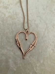 Double Sided Heart Necklace