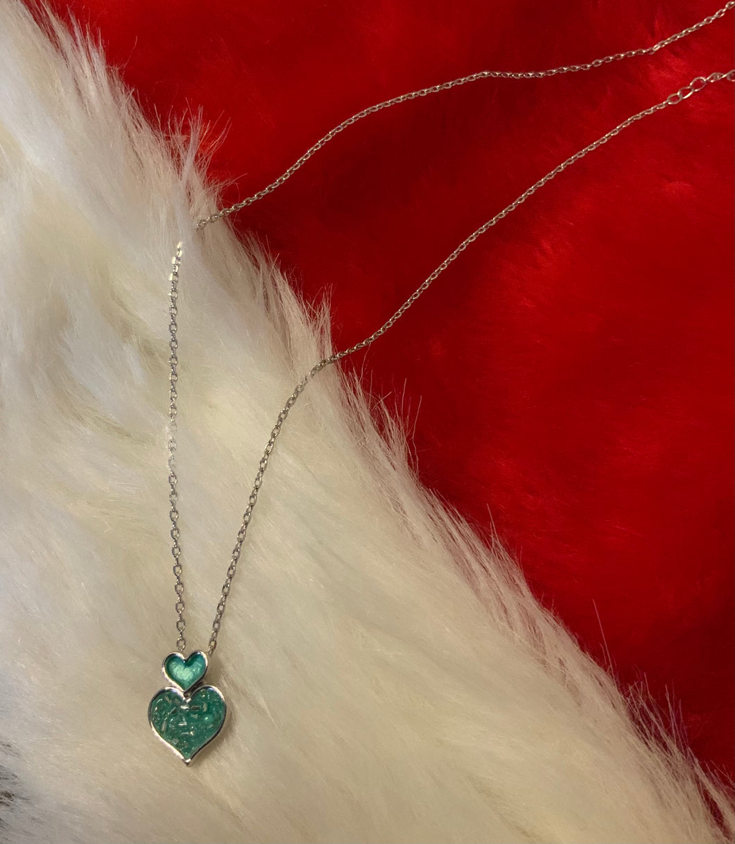 Miss Milly Double Heart Necklace