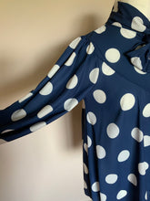 Load image into Gallery viewer, Polka Dot Top With Tie