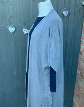 Load image into Gallery viewer, Long Edge to Edge Cardigan Jacket with Side Buttons