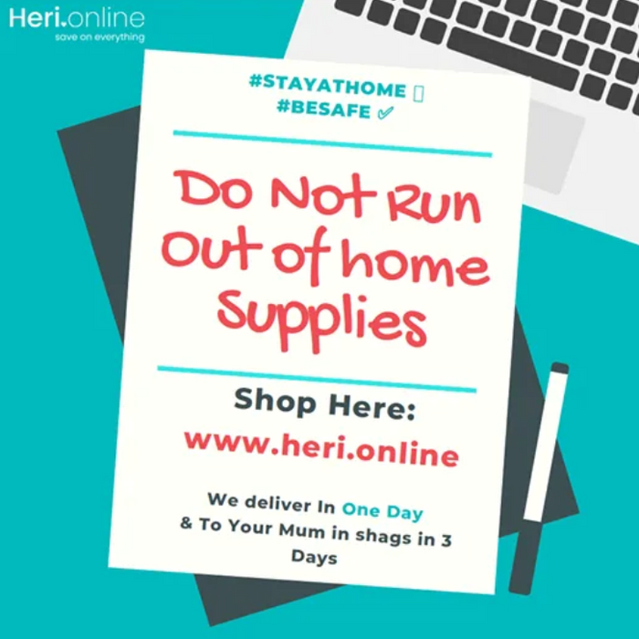 Do not run out of home supplies