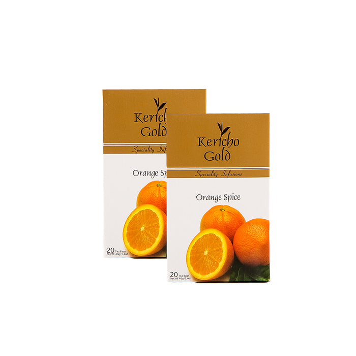 Kericho Gold Tea Bags Orange Spice | 40g