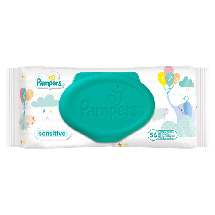 Pampers Wipes Sensitive | 56s